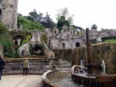 Rometta Fountain and the corner of the Casino Villa d'Este, 2013