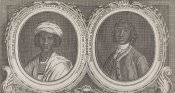 """Two African Princes,"" Gentleman's Magazine (London: 1750)"