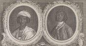 """Two African Princes,"" Gentleman's Magazine (London: 1750)"