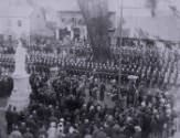 Unveiling by Sir Charles Mitchell, Governor of Natal, on July 8, 1890.