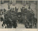 Mourning ceremony marking Queen Victoria's death, August 1901.
