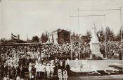 Unveiling by the Prince of Wales, future King George V, on March 17, 1906.