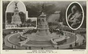 """Queen Victoria Memorial, Unveiled by H.M. King George V, May 16th, 1911"" (postcard)."