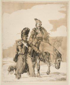 Théodore Géricault, Retour de Russie (Return from Russia)