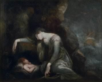 Henry Fuseli, Danaë and Perseus on Seriphos(?)