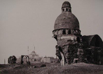 Francis Frith, Tomb under the Gebel El Mukattam, Cairo