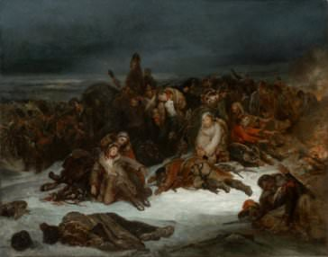 Ary Scheffer, The Retreat of Napoleon's Army from Russia in 1812