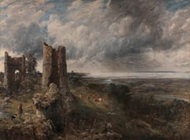 John Constable, Hadleigh Castle, The Mouth of the Thames—Morning after a Stormy Night
