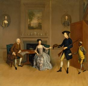 A. Devis, John Orde, His Wife Anne, and His Eldest Son William