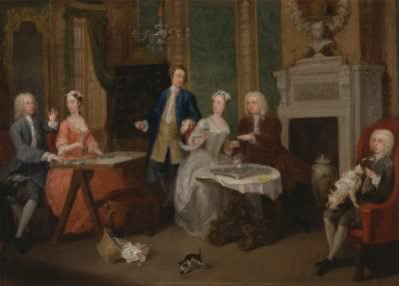 W. Hogarth, Portrait of a Family