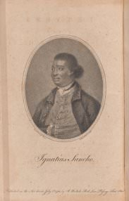 Ignatius Sancho; ed. Mrs. F. Crew Phillips, with Joseph Jekyll, *Letters of the late Ignatius Sancho, an African* (2nd ed. London: J. Nicols and C. Dillly, 1783), frontispiece.