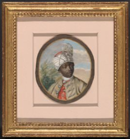 Attributed to B. Lens, Portrait of a Young Man