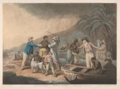 J. R. Smith after G. Morland, *The Slave Trade*