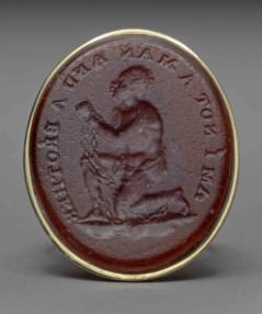 [Unknown artist], Signet ring for wax seal