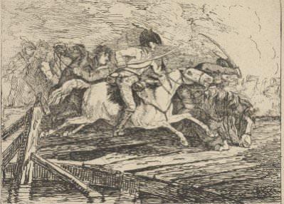 Conrad Gessner, Calvary Charging