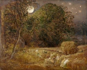 Samuel Palmer, The Harvest Moon