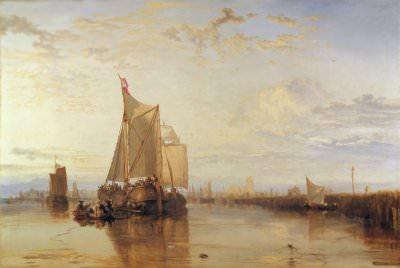 Joseph Mallord William Turner, Dort or Dordrecht: The Dort Packet-Boat from Rotterdam Becalmed