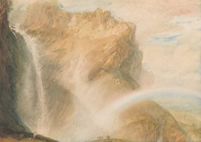 J. M. W. Turner, Upper Fall of the Reichenbach: Rainbow