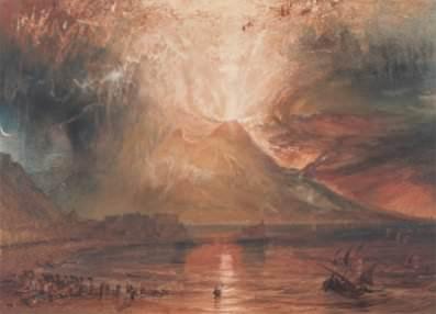 Joseph Mallord William Turner, Vesuvius in Eruption