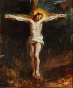Eugène Delacroix, The Crucifixion