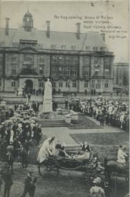 Unveiling by King Edward VII on July 11, 1906